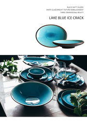 Ice Cracking Glaze Ceramic Tableware