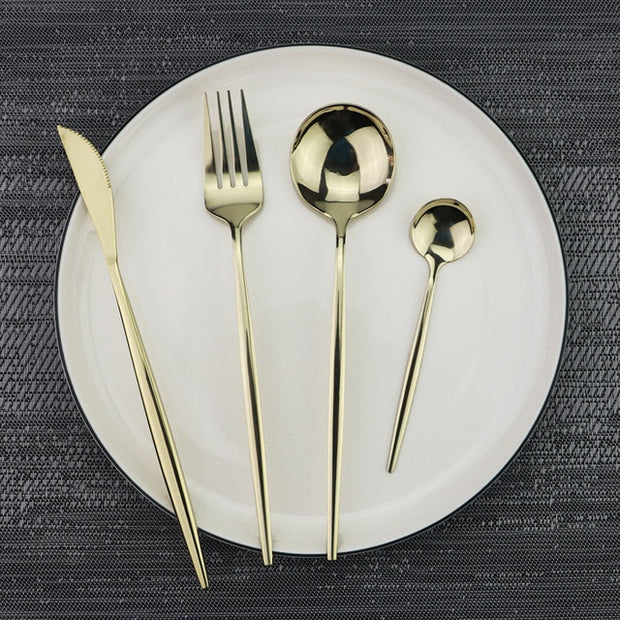 Mirror Silverware Tableware