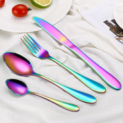 Multi-Colors Rainbow Cutlery Set