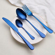 Matte Stainless Steel Cutlery Set
