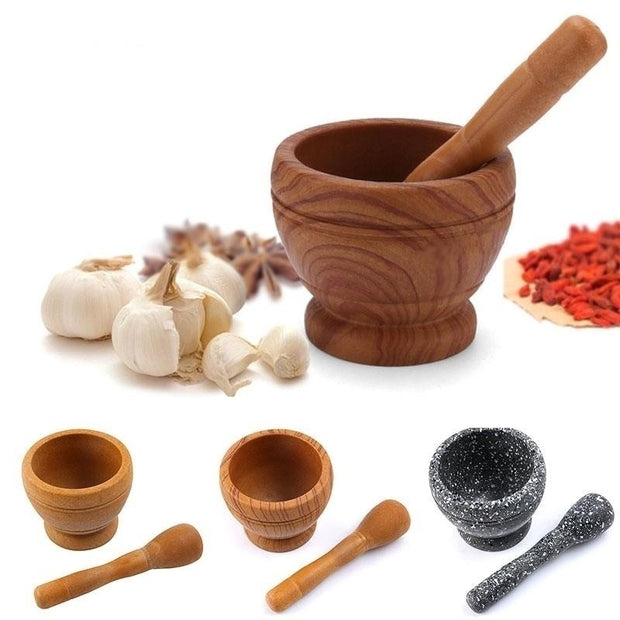 Resin Mortar Pestle Set