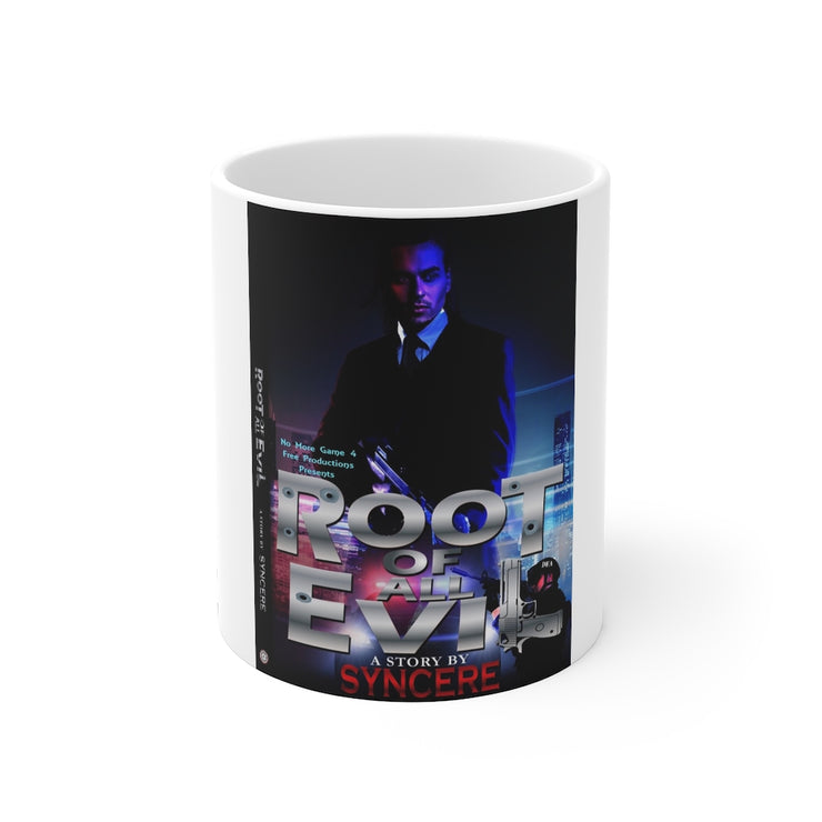 The Root Book Cover Mug 11oz