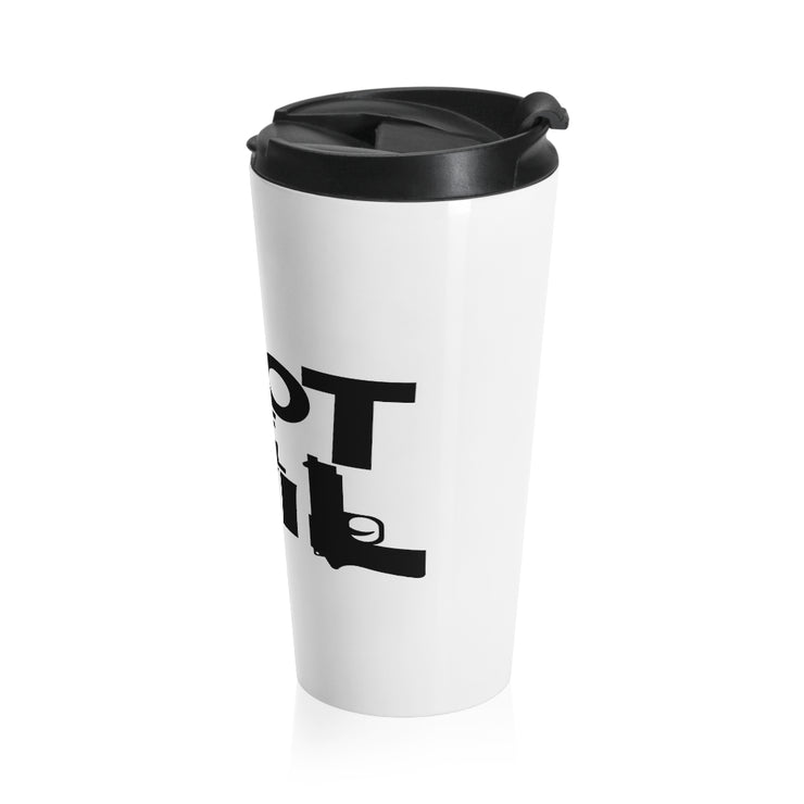Root of All Evil Stainless Steel Travel Mug