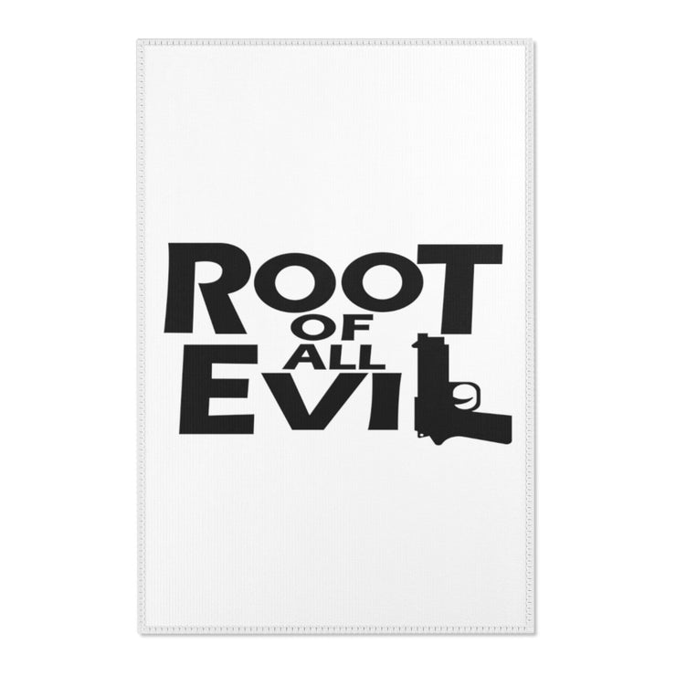 Root of All Evil Area Rug