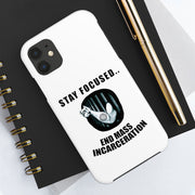 End Mass Incarceration Case Mate Tough Phone Cases