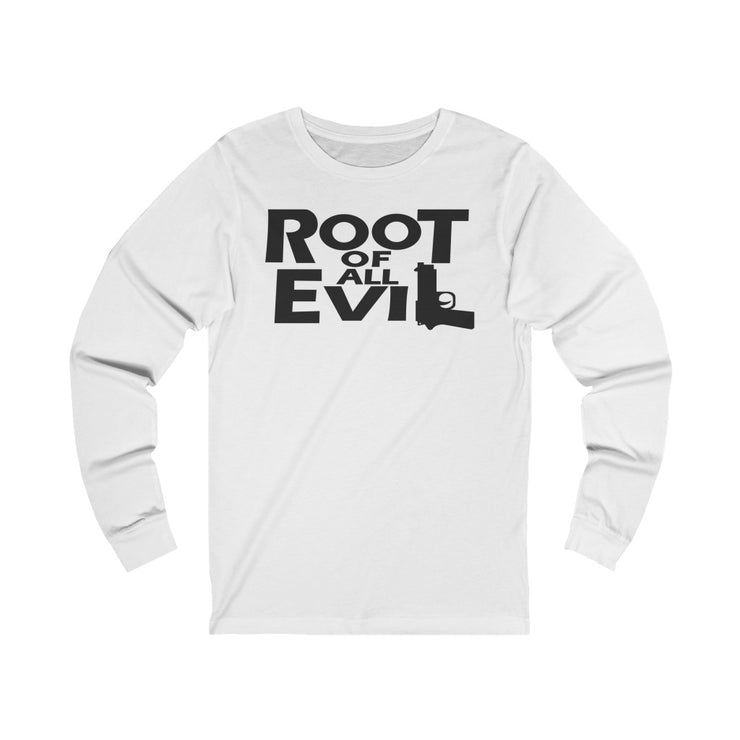 Root of All Evil Unisex Jersey Short Sleeve Tee