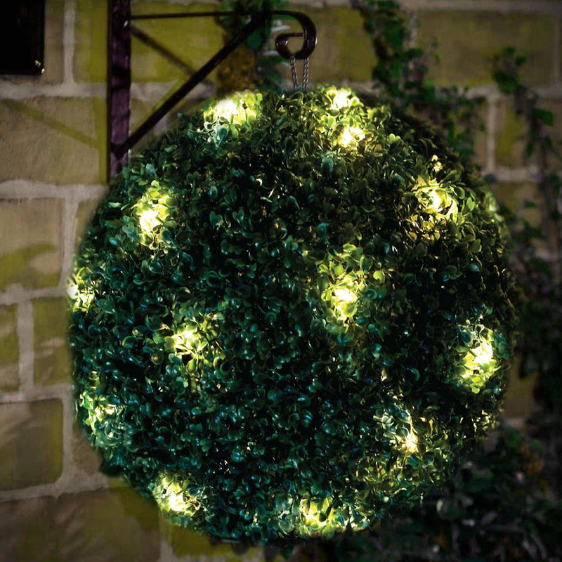 28cm Solar Topiary Ball