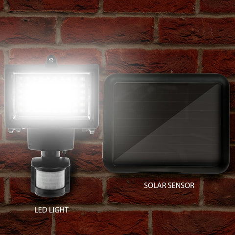 Solar Powered 60 LED Sensor PIR