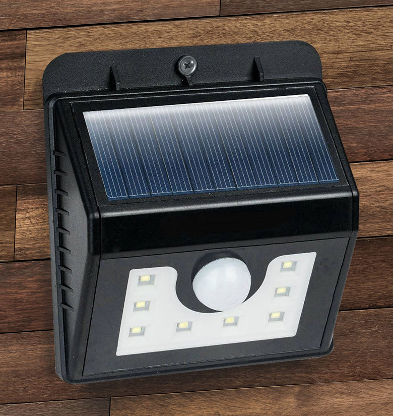8 LED Pir Motion Sensor Solar Light