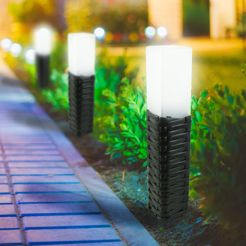Solar Power Rattan Light