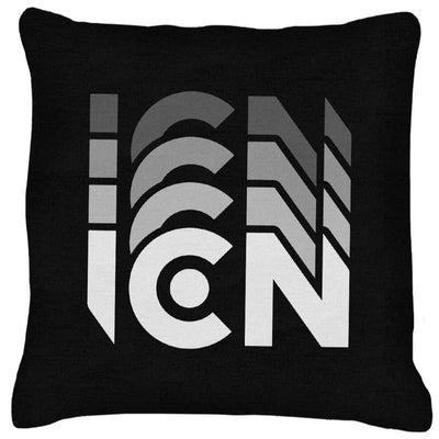 Ibiza Club News White ICN Trail Logo Cushion