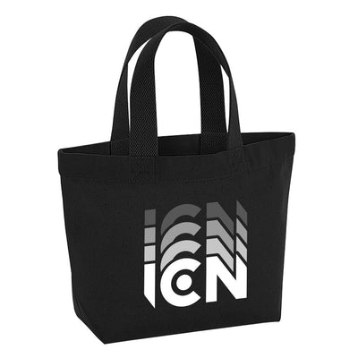 Ibiza Club News White ICN Trail Logo Marina Mini Tote Bag