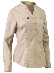 Bisley Womens Closed Front Shirt