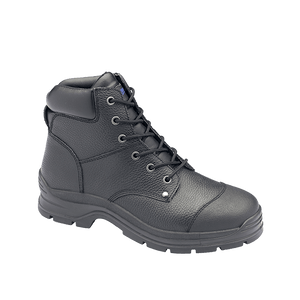Blundstone 313 Black Lace up Safety Boots