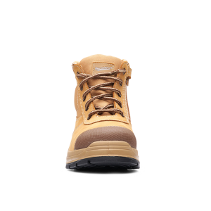 Blundstone 318 Zip Sider Wheat Safety Boots