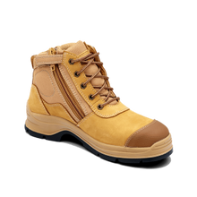 Load image into Gallery viewer, Blundstone 318 Zip Sider Wheat Safety Boots