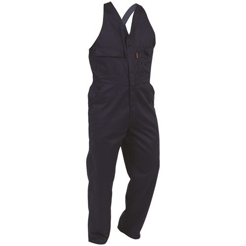 Easy-Action Dome Cotton Overalls