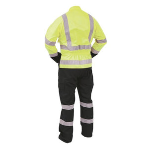 Protex Hivis Day/Night Polycotton Overalls