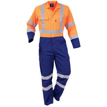 Load image into Gallery viewer, Protex Hivis Day/Night Polycotton Overalls