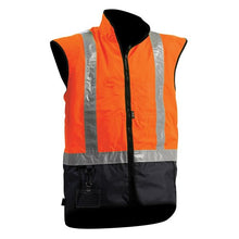 Load image into Gallery viewer, Bison Stamina Fleece-lined Day/Night Vest