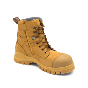 Blundstone 992 Wheat Leather Zip-Sider Boots