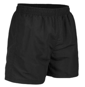 Cotton Drill Rugby Shorts with 2 Side Pockets and 1 Back Pocket