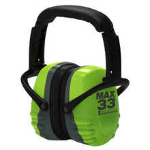 Load image into Gallery viewer, Esko Max33 Green/Grey Folding Earmuffs