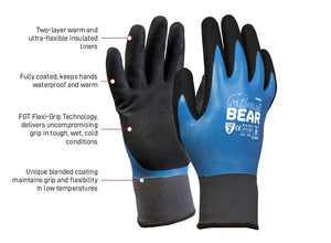 Polar Bear Full Coat Waterproof Thermal Glove