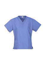 Load image into Gallery viewer, Ladies Biz Care Classic Scrubs Top