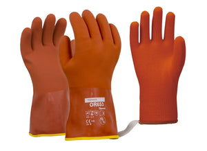 Towa Thermal Lined PVC Dipped Winter Gloves