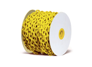Plastic Chain Yellow - (25m roll, sold by the metre)
