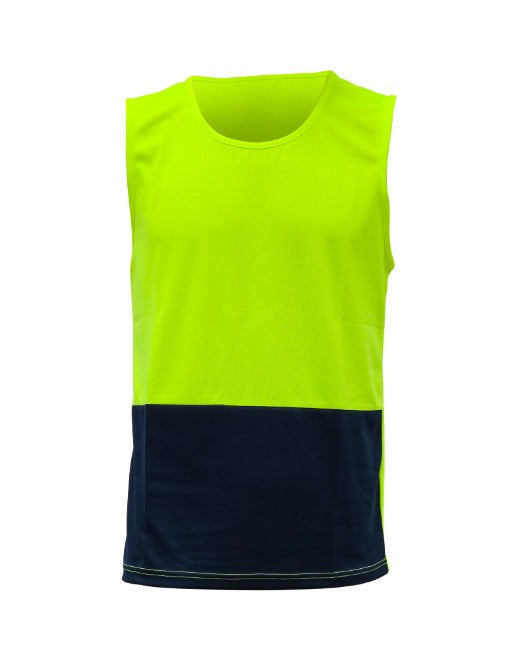 Caution Hi Vis Day/Only Microfibre Singlet
