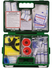 Load image into Gallery viewer, IN2SAFE 1-12 Person First Aid Kit - Plastic Box