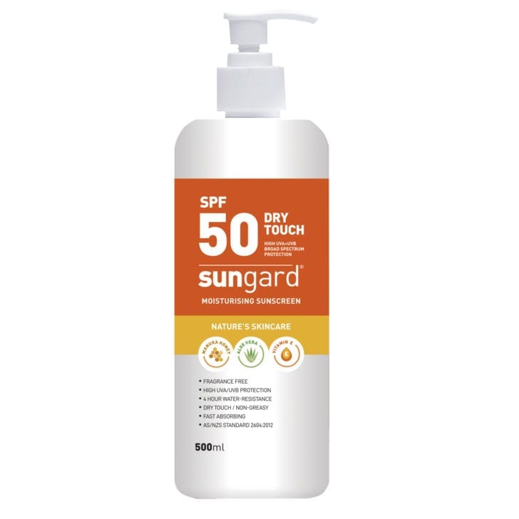 Sungard Sunscreen SPF50+ 500ml pump bottle