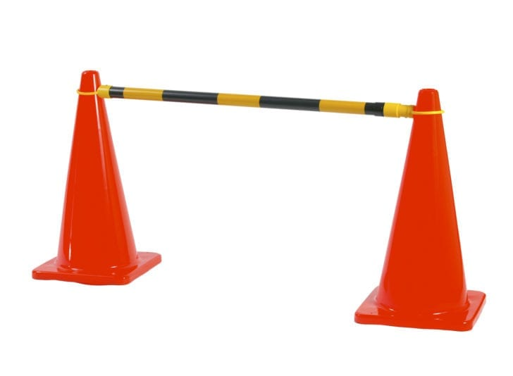 Extendable Cone Barrier Bar