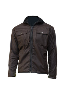 Lumsden Long Sleeved oilskin Jacket
