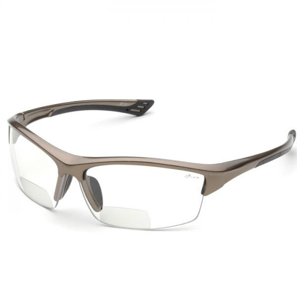 Elvex +1.5 Reading Safety Specs- 350 Series - Clear