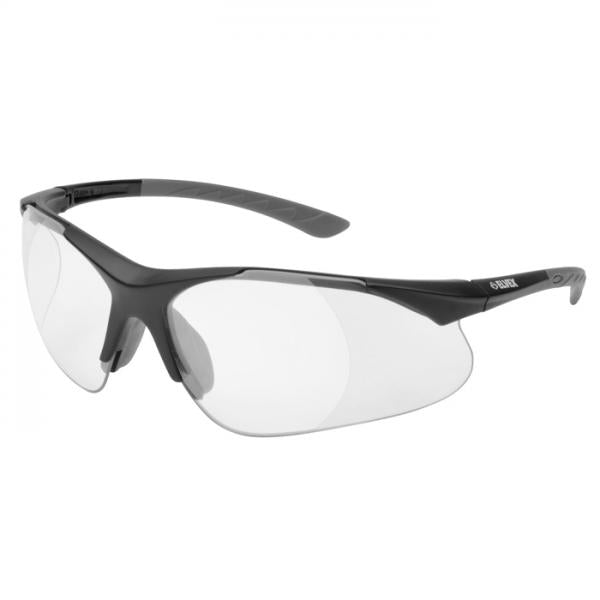 Elvex Reading Safety Specs +1.5 Diopter- 500 Series - Clear