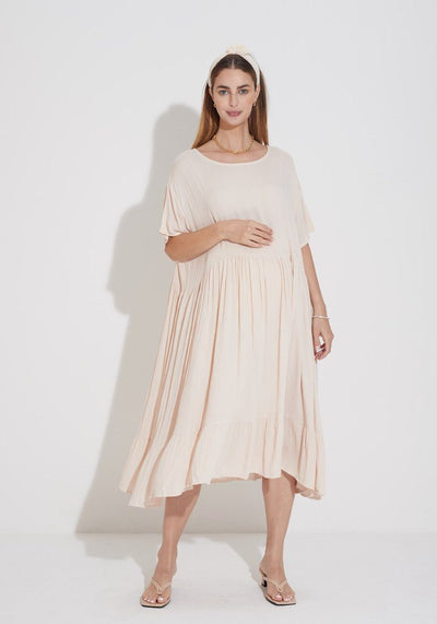 Everyday Gauze Dress dress LIV Maternity