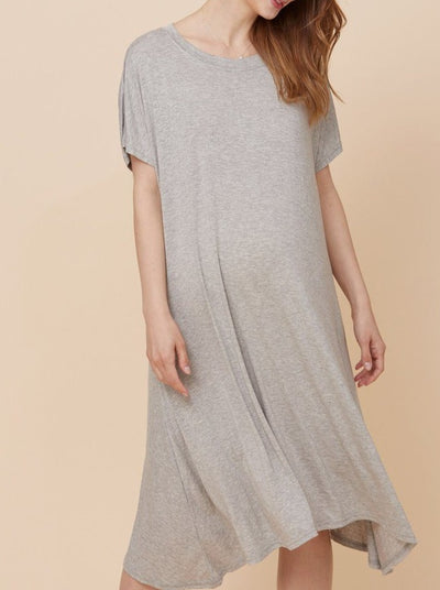 Jersey Asymmetrical Dress dress LIV Maternity