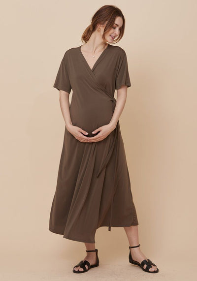 Wrap Nursing Dress dress LIV Maternity