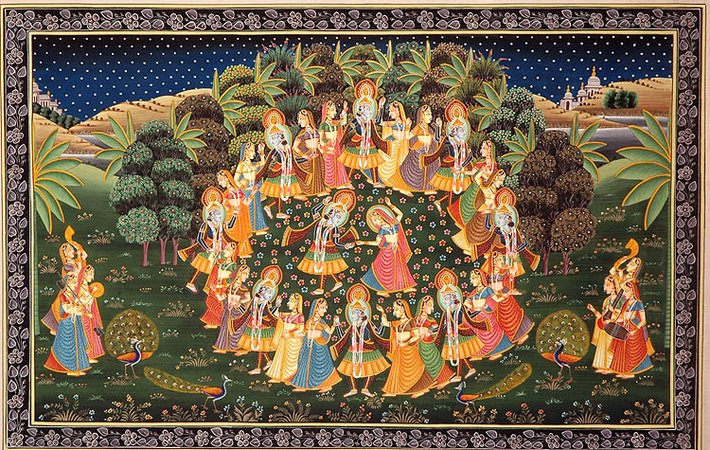Krishna's Rasa Lila: The Vedantic Perspective