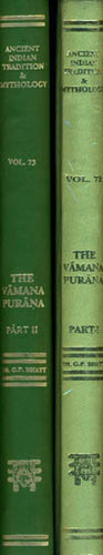 The Vamana-Purana (Set of 2 Volumes)