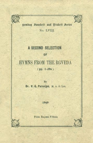 A Second Selection of Hymns From The Rgveda (An Old and Rare Book)