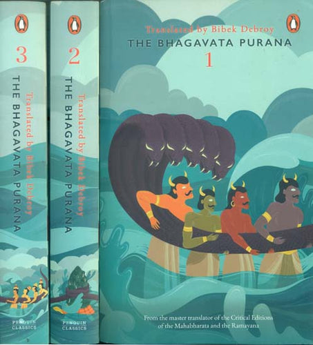 The Bhagavata Purana: Published by Penguin (Set of 3 Volumes)