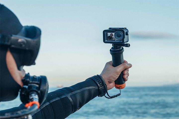 DJI Osmo Action Floating Handle (Part 13) - DronetechNZ