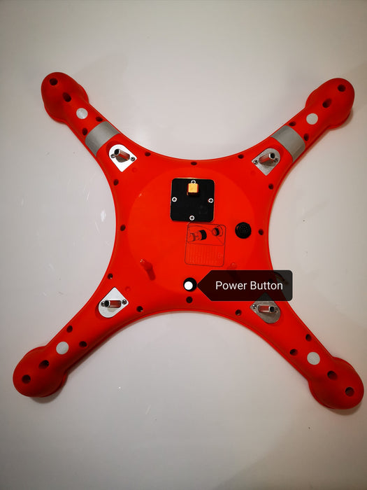 Splashdrone 3 Power Button and firmware update upgrade