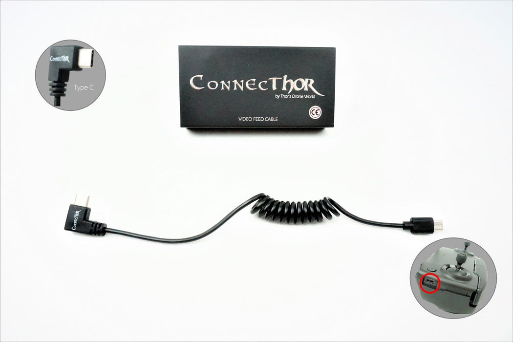 ConnecThor OTG Micro USB - Type C - DronetechNZ