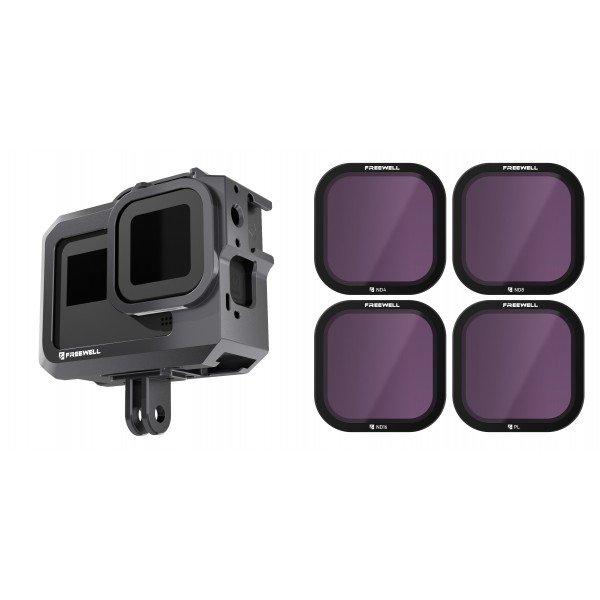 GoPro Hero8 Black Filters - Standard Day - 4 Pack - DronetechNZ