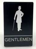 "ADA Compliant ""Steampunk"" - Ladies & Gentlemen Themed Restroom / Bathroom Signs"
